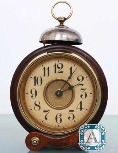 a3f16cf5 Старинные, антикварные настольные часы-будильник пр-ва JUNGHANS, Германия,  1920 года